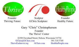 Gary Christopherson business card