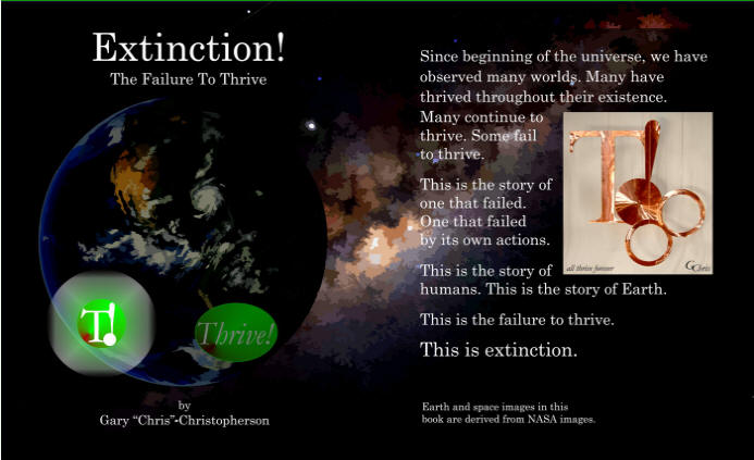 Extinction! - The Failure to Thrive - sci fi book